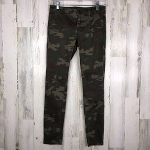 Sanctuary Camouflage skinny ankle pants size 26